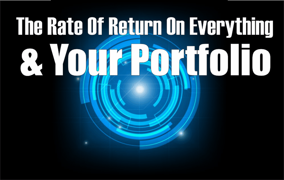 , The Rate Of Return On Everything & Your Portfolio