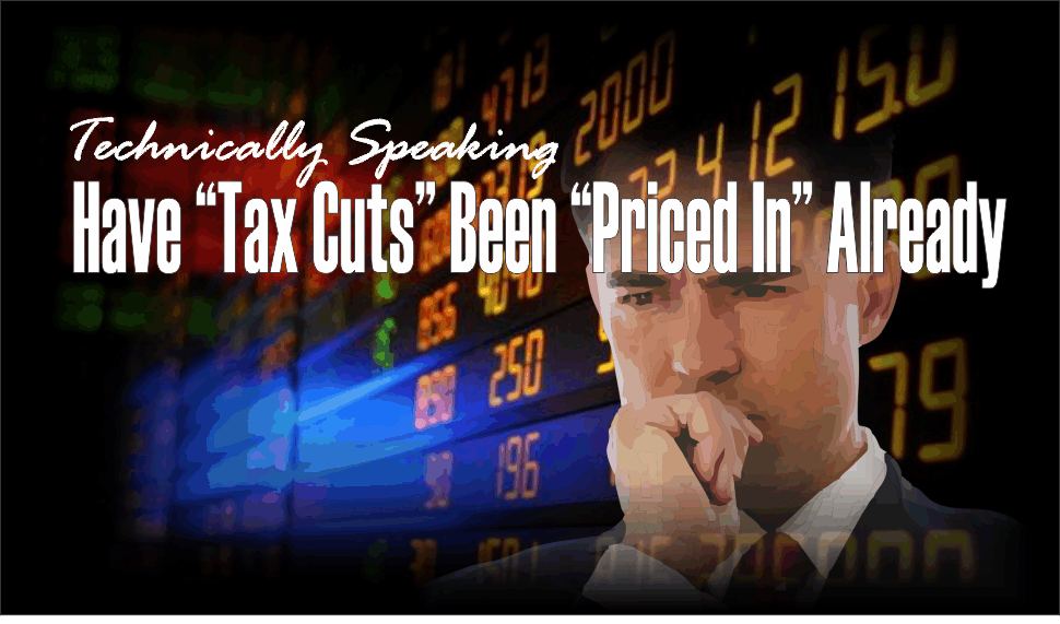 """, Technically Speaking: Have """"Tax Cuts"""" Been """"Priced In"""" Already?"""