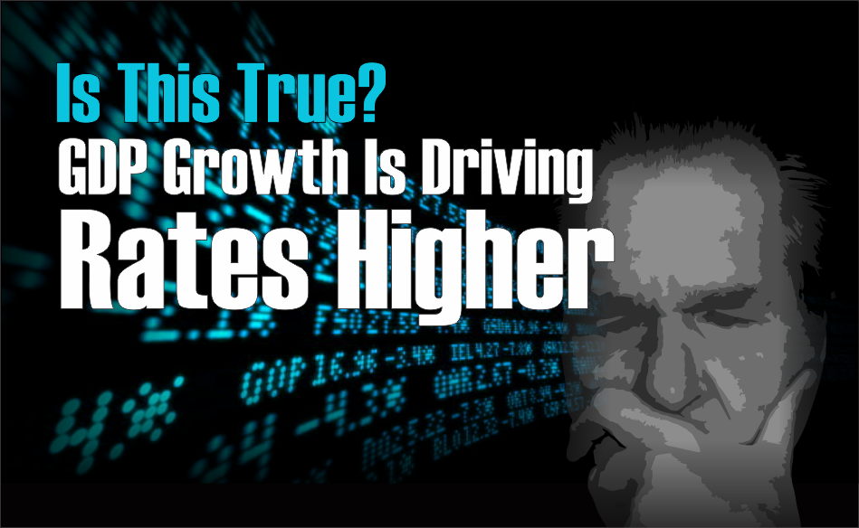 """, """"GDP Growth Driving Rates Higher!"""" – Is That True?"""