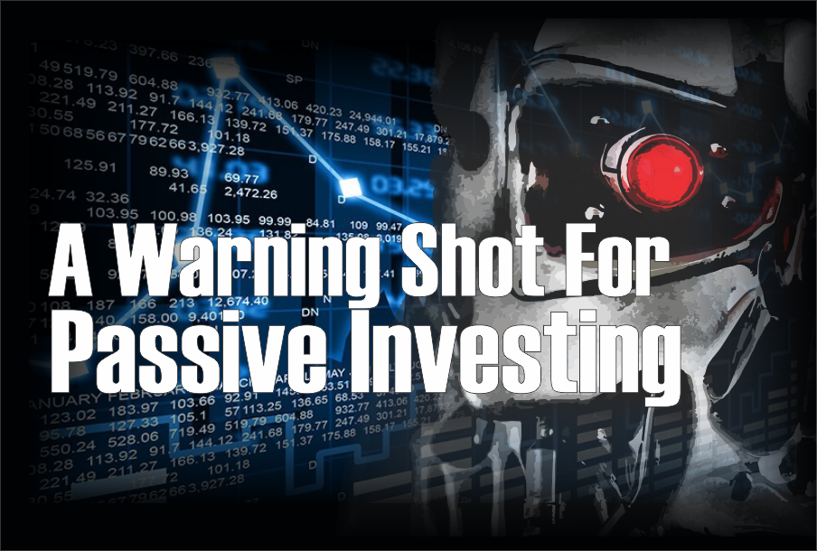 , A Warning Shot For Passive Investing