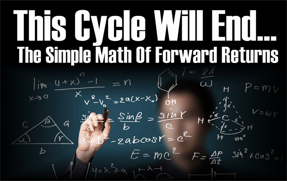 This Cycle Will End – The Simple Math Of Forward Returns | RIA