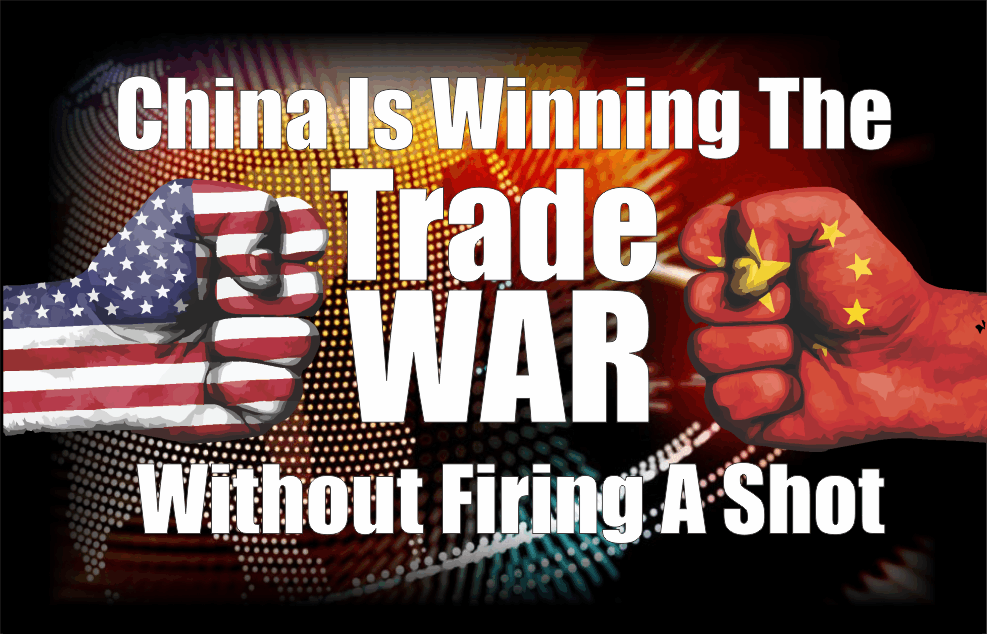 ", China Is Winning The ""Trade War"" Without Firing A Shot"