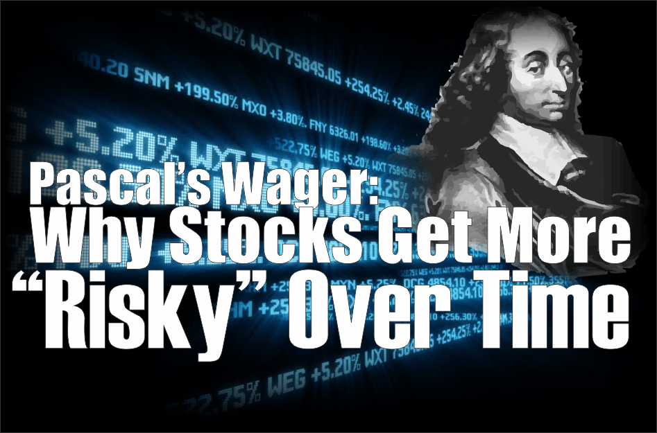 ", Pascal's Wager Shows Why Stocks Get More ""Risky"" Over Time"