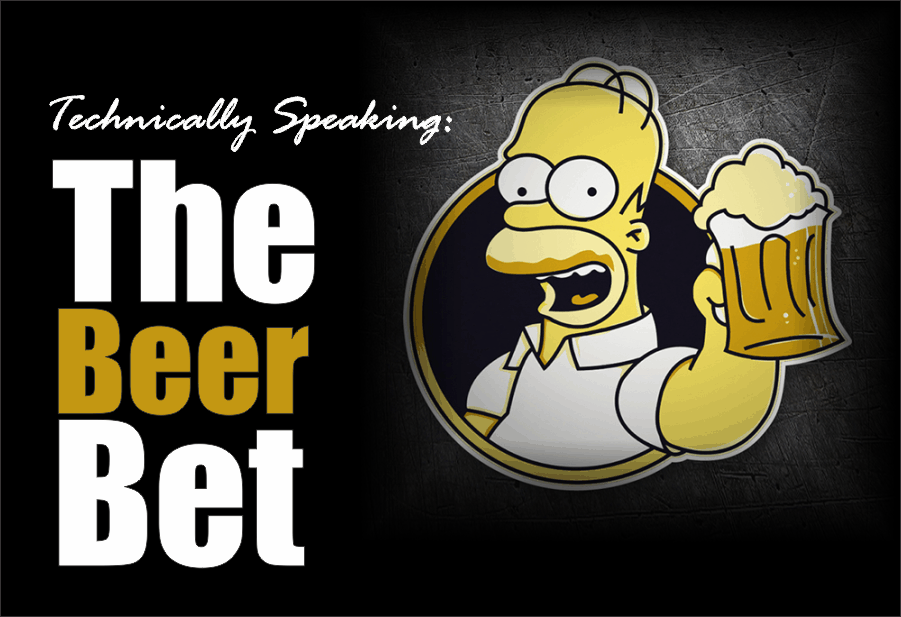 , Technically Speaking: The Beer Bet
