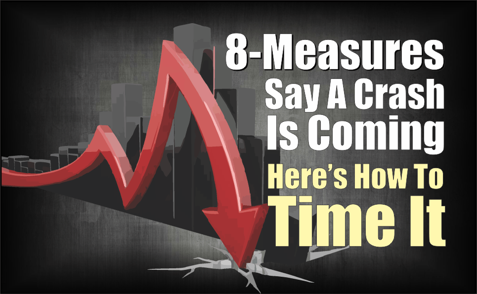 , 8-Measures Say A Crash Is Coming, Here's How To Time It