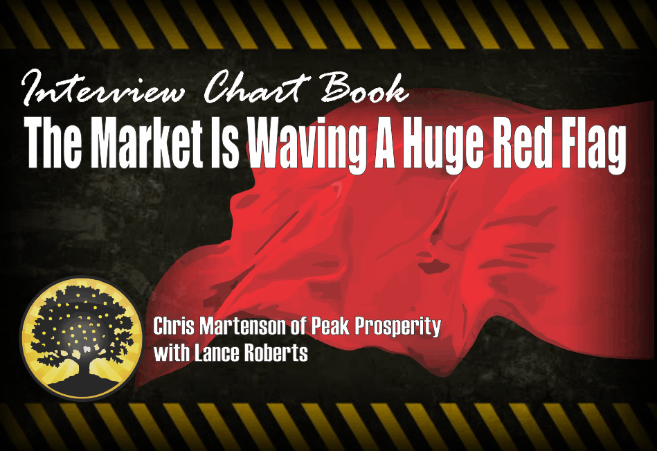 , Interview Chart Book: The Markets Are Waiving A Huge Red Flag