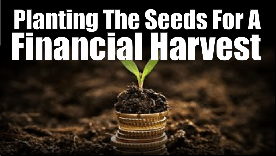 , Planting The Seeds For A Financial Harvest