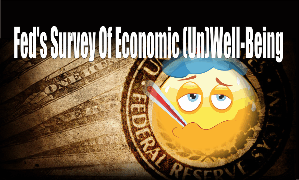 , Fed's Survey Of Economic (Un)Well-Being