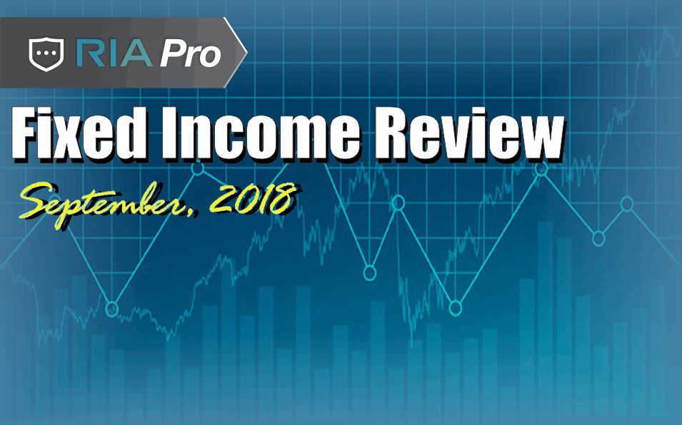 , Monthly Fixed Income Review – September 2018
