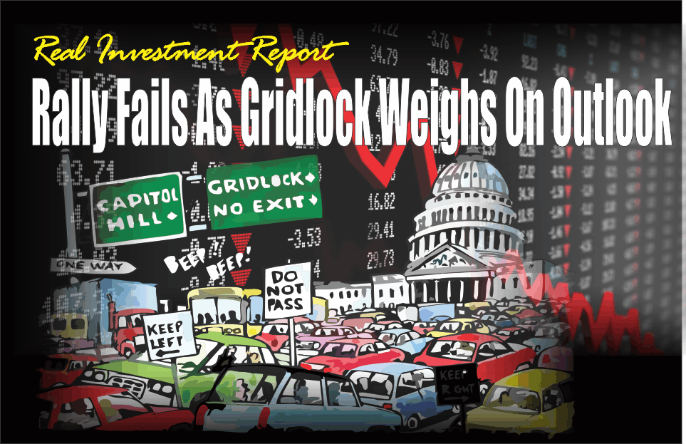 , Rally Fails As Gridlock Weighs On Outlook 11-09-18
