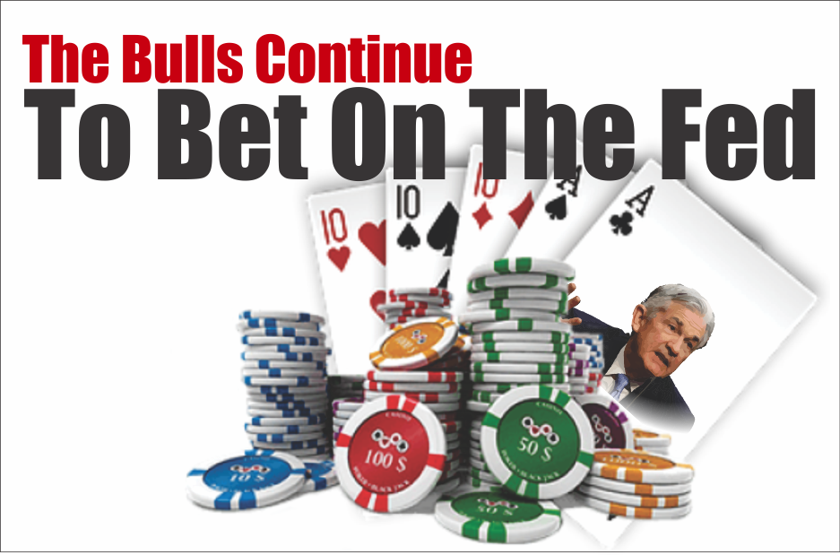 , The Bulls Continue To Bet On The Fed 05-24-19