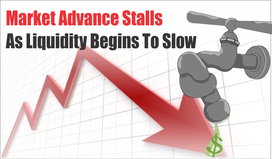 , Market Advance Stalls As Liquidity Begins To Slow 01-25-20