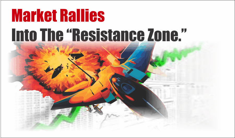 ", Market Rallies Into The ""Resistance Zone"" – Full Report"