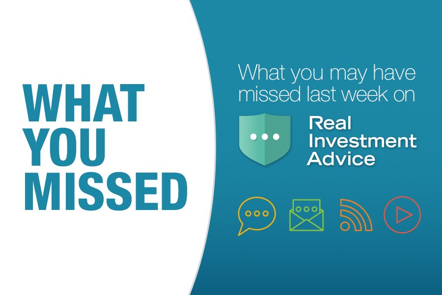 What you missed, #WhatYouMissed On RIA This Week: 06-26-20