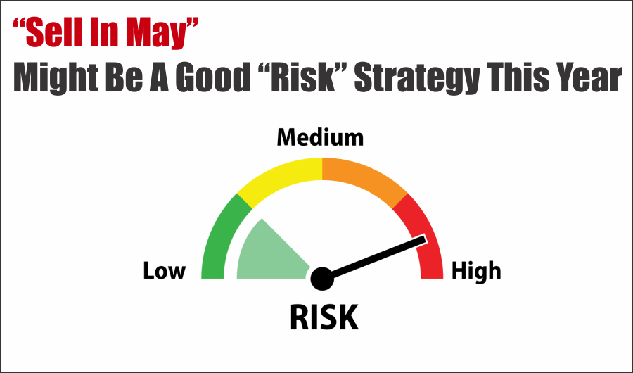 "Risk, ""Sell In May"" Might Be A Good Risk Strategy This Year (Full Report)"