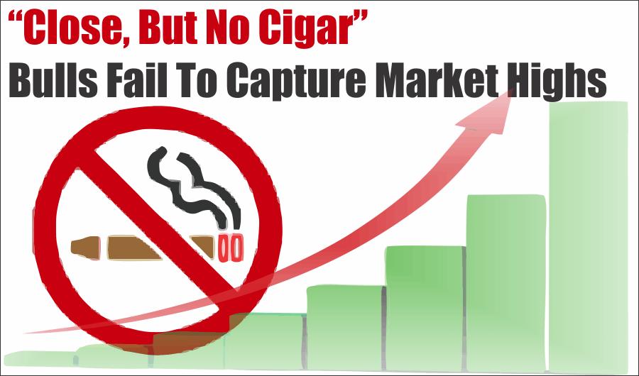 """close no cigar market, """"Close But No Cigar,"""" Bulls Fail To Capture Market Highs 08-14-20"""