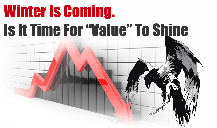 "Winter Is Coming Value, Winter Is Coming. Is It Time For ""Value"" To Shine? 08-28-20"