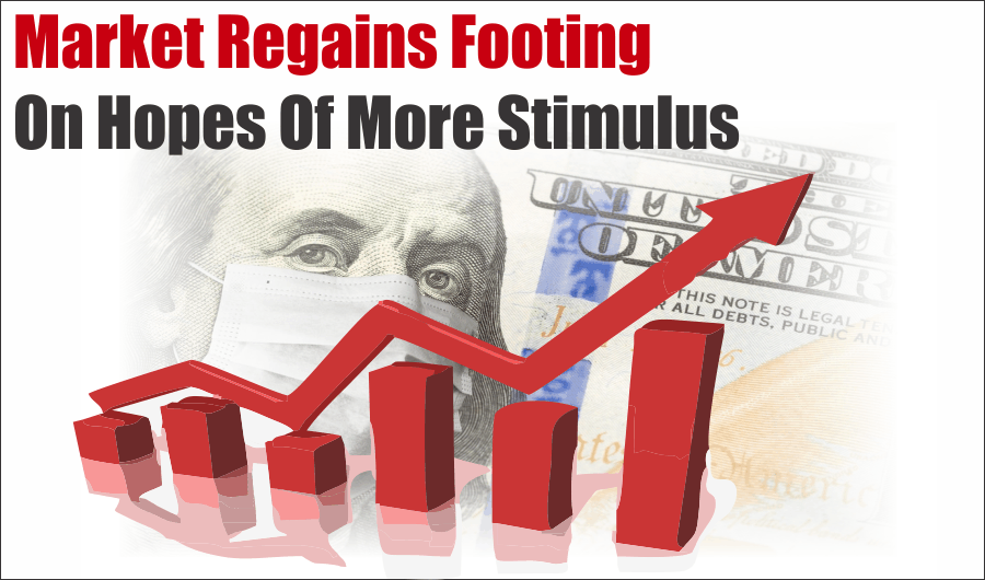 Market Regains Footing Stimulus, Market Regains Footing On Hopes Of More Stimulus 10-09-20