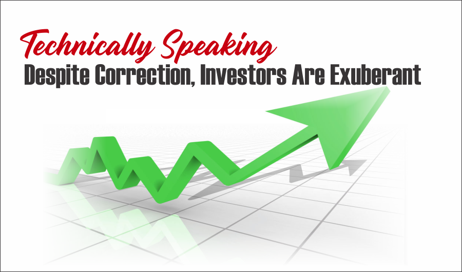 correction investors exuberant, #Technically Speaking: Despite Correction, Investors Are Exuberant
