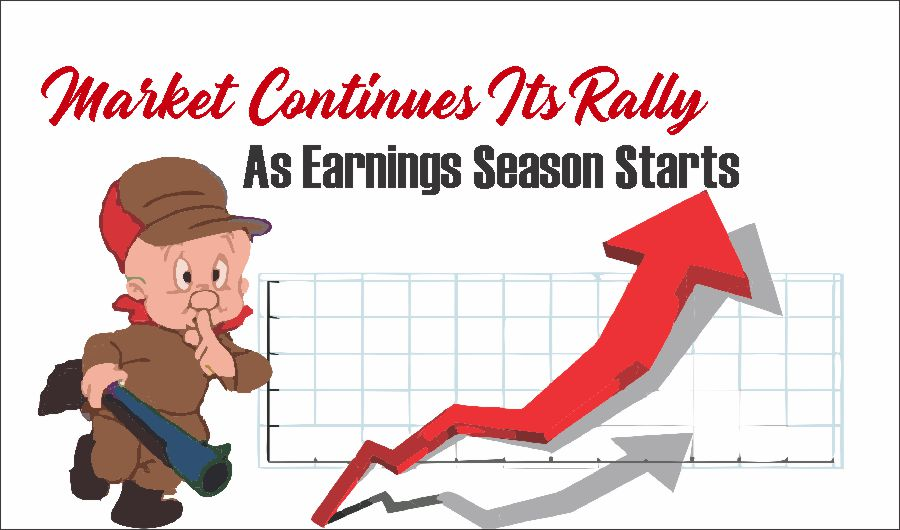 Market Rally Earnings 04-16-21, Market Continues Its Rally As Earnings Season Starts 04-16-21