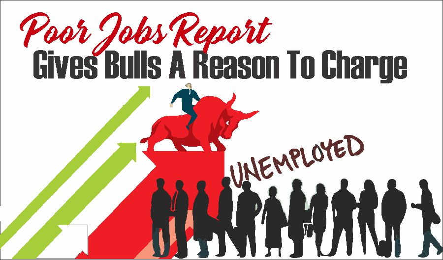 , Poor Jobs Report Gives Bulls A Reason To Charge 05-08-21